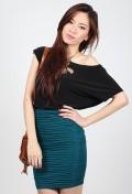 Avenne Textured Skirt