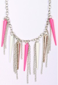 Zinc Spike Necklace