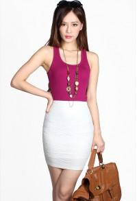 Quin Shimmer Skirt
