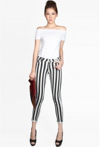 Lineage Striped Pants