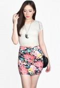 Dakota Floral Skirt