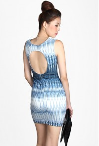 Kevine Printed Dress