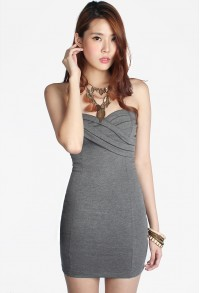 Vale Strapless Dress