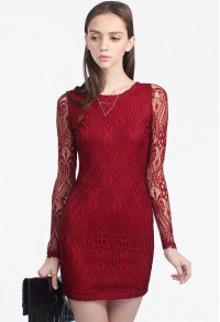 Zarelda Lace Dress